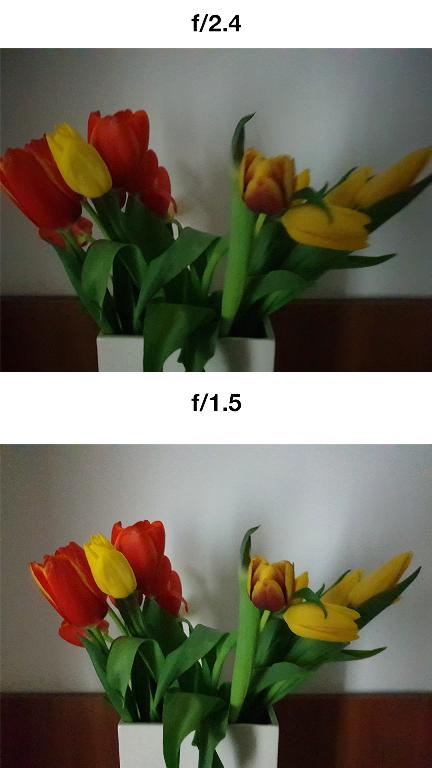 Samsung Galaxy S9 și S9+ apertura variabila